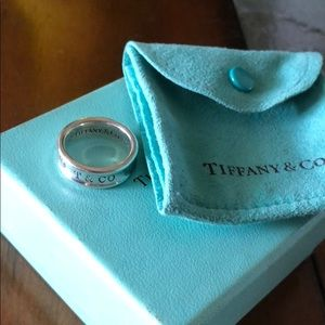 Tiffany & Co  1837 Ring  size 6